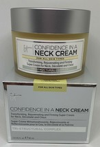 It Cosmetics Confidence In A Neck Cream Firming Super Cream 2.6 Fl.Oz. Nib - $40.84