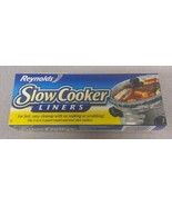 Lot of 2 - New Reynolds Slow Cooker Liners Easy Cleanup- (4 Liners, 13in... - $9.74