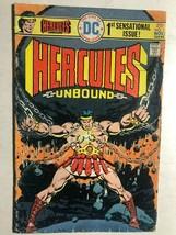HERCULES UNBOUND #1 (1975) DC Comics VG/VG+ - $9.89