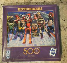 "Schmid 500 Piece Jigsaw Puzzle Hotdoggers 18"" x 24"" 1999 New Sealed No.9... - $20.57"