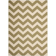 "Safavieh Courtyard Collection CY6244-244 Green and Beige Area Rug, 6'7"" ... - $108.89"