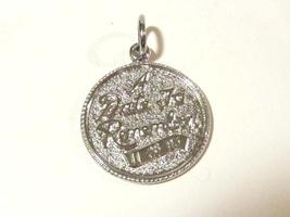 Sterling silver 925 A date to remember pendant - $6.00
