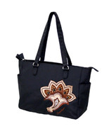 Longaberger Sisters Timeless Large Black Tote Carry On Bag Purse Very Ni... - $19.75