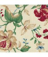 Longaberger Napkins Fabric 2 Pack Heirloom Floral Flower 100% Cotton New... - $11.83