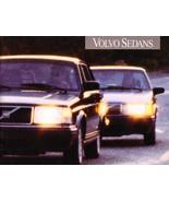 1993 Volvo SEDANS brochure catalog US 93 240 940 960 - $8.00