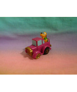 Vintage McDonald's Disney Miniature Pluto Purple Pullback and Go Car (3) - $1.97