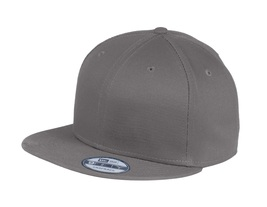 New Era 9Fifty Flat Brim Snapback Hat Cap Blank Charcoal Gray 950 new - $12.00