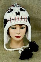 Tim Burton Jack Skull Face Head Knit Wool Hat Cap Tassels Nightmare Chri... - $14.39
