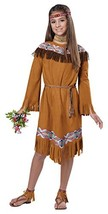 California Costumes Classic Indian Girl Child Costume, X-Large - $35.08