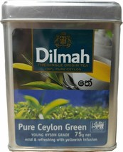 Green tea dilmah pure Ceylon tea natural single source Grade young hyson - $9.68