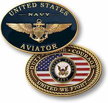 Navy Aviator Challenge Coin NTM-60114 - $14.80