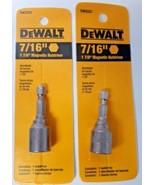 """Dewalt DW2227 7/16"""" x 1-7/8"""" Magnetic Nutdriver (2 Packs) - $3.17"""