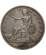 1878  cc Trade Dollar 90 percent Pure Silver, Excellent, in stock Fully ... - €44,64 EUR