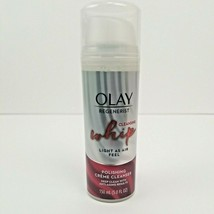 Olay Regenerist Cleansing Whip Facial Polishing Creme Cleanser 5 oz Anti... - $12.50