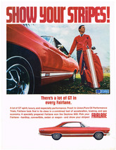 Vintage 1967 Magazine Ad Ford Fairlane GT Spirit Luxury And Performance - $5.93