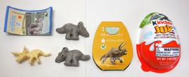 Kinder Joy Jurassic World Fallen Kingdom Triceratops Minifigure New w/ P... - $6.97