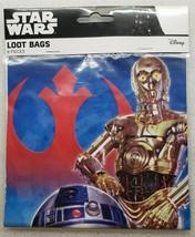 Disney Star Wars 8 Count Loot Bags - $6.92