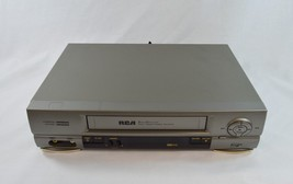 Rca VR552 Vcr Plus 4 Head Hi-Fi Vhs Player Recorder Fully Tested No Remote - $38.99
