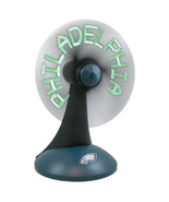 PHILADELPHIA EAGLES NFL AC/DC SPORTS LOGO DESKTOP NEON MESSAGE FAN - $38.53