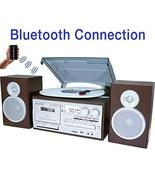 Boytone BT-28SPS, Bluetooth Classic Style Record Player Turntable with A... - $240.67