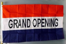 "GRAND OPENING 3X5' FLAG NEW 3'X5' BIG SIGN 36X60"" 3 X 5 - $9.85"