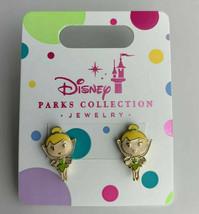 Disney Parks Princess Pierced Earrings Jewelry Girls Tinker Bell - $6.16