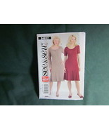 BUTTERICK B4832 MISSES PLEATED BOTTOM DRESS SEWING PATTERN SIZE 8 TO 14 - $5.50