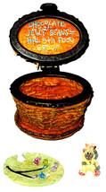 "Boyds Treasure Box ""Flopsie's Easter Basket w/Cocoa""  #392118 -1E -NIB-2001 - $39.99"