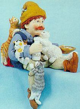"Shenandoah Designs ""Keeper of Cats"" Style #1437* Shelf Sitter* NEW* Retired - $39.99"