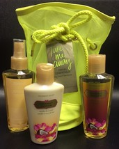 "Victoria Secret Take Me Away ""Coconut Passion Travel Essentials 4pc Gift Set NWT - $24.70"