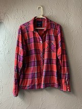 American Eagle Outfitters Plaid Long Sleeve Button Down Size XL - $12.16