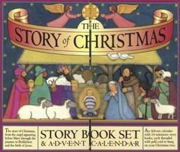The Story Of Navidad Libro de Cuentos Juego Calendario Adviento Nativida... - $18.48