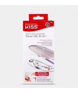 KISS BATTERY OPERATED NAIL FILE POWER FILE TO GO PROFESSIONAL NAIL CARE ... - $9.89