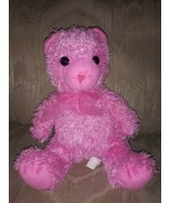 """Best Made Toys Pink Teddy Bear Plush 12"""" Cockeyed Bow Ages 3+ Surface... - $11.87"""