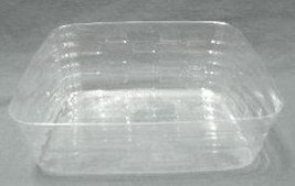 Longaberger Large Business Card Basket Plastic Protector Only New Authentic - $9.70