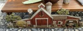 "BURWOOD VINTAGE 587 3D FARM BARN SCENE 1974 WALL HANGING 46"" Homco Home ... - $49.45"