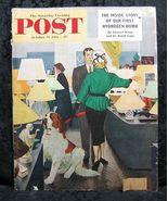 Saturday Evening Post October 25, 1952 G Hughes Cover - $4.99