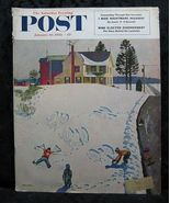 Saturday Evening Post January 10, 1953 John Falter Cover - $4.99