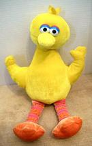 "Big Bird Plush Sesame Street Nanco Muppets 16"" Velour Stuffed Animal Toy... - $10.90"