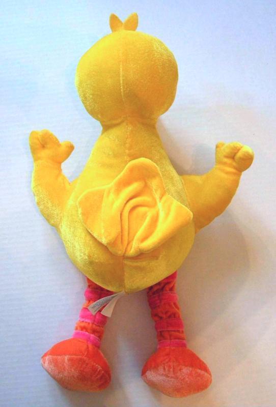 "Big Bird Plush Sesame Street Nanco Muppets 16"" Velour Stuffed Animal Toy 2004"