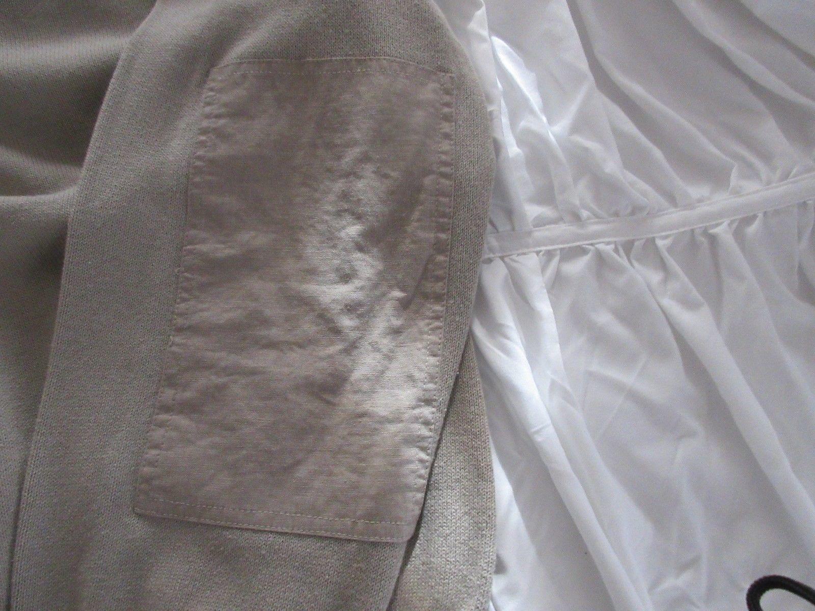 Nautica Mens Long Sleeve Zipper Collar Heavy Shirt Pull Over , XL , 100% Cotton