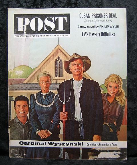 Saturday Evening Post February 2, 1963 Beverly Hillbillies