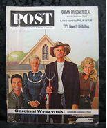Saturday Evening Post February 2, 1963 Beverly Hillbillies - $3.99