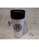 Vintage STARBUCKS Coffee Mug Travel Tumbler MERMAID Design Cup  - $9.99