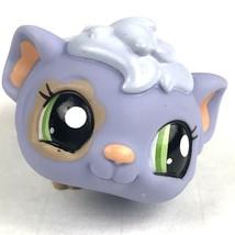 Littlest Pet Shop Lavender Guinea Pig Green Eyes 2007  - $7.66