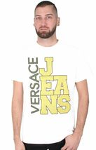 Versace Jeans Big Logo Cube Men's Graphic Tee NWT image 6
