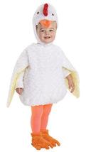 Toddler White Plush Chicken Costume by Underwraps™ - £29.38 GBP