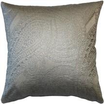 Pillow Decor - Vicenzo Mercury Throw Pillow 20x20 (BD1-0004-02-20) - $79.95