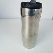 Starbucks Flip-Top Silver Stainless Steel Tumbler 12oz - $49.91
