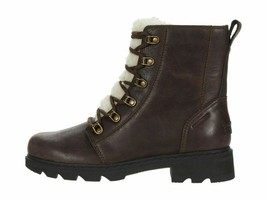 Sorel Lennox Lace Cozy Blackened Brown Women's Winter Boots 1930961205 - $179.00